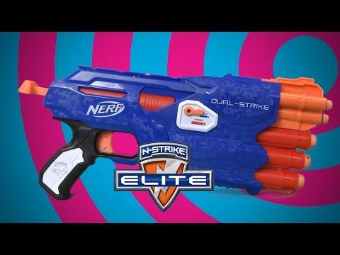 Nerf N-Strike Elite Dual-Strike from Hasbro