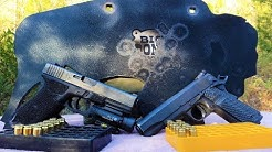 45acp vs 10mm - Hunting with Handguns
