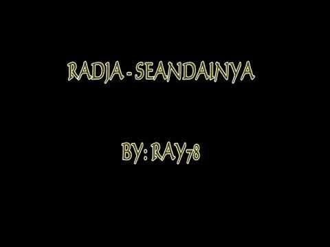 RADJA - SEANDAINYA