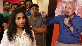 Anupam Kher Reacts On RJ Malishka