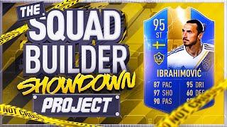 FIFA 19 SQUAD BUILDER SHOWDOWN!!! TEAM OF THE SEASON IBRA!!! The Squad Builder Showdown Project