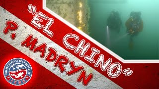 "(4k) Buceo en Naufragio Hu Shun Yu 809 ""El Chino"" - Puerto Madryn, Argentina"
