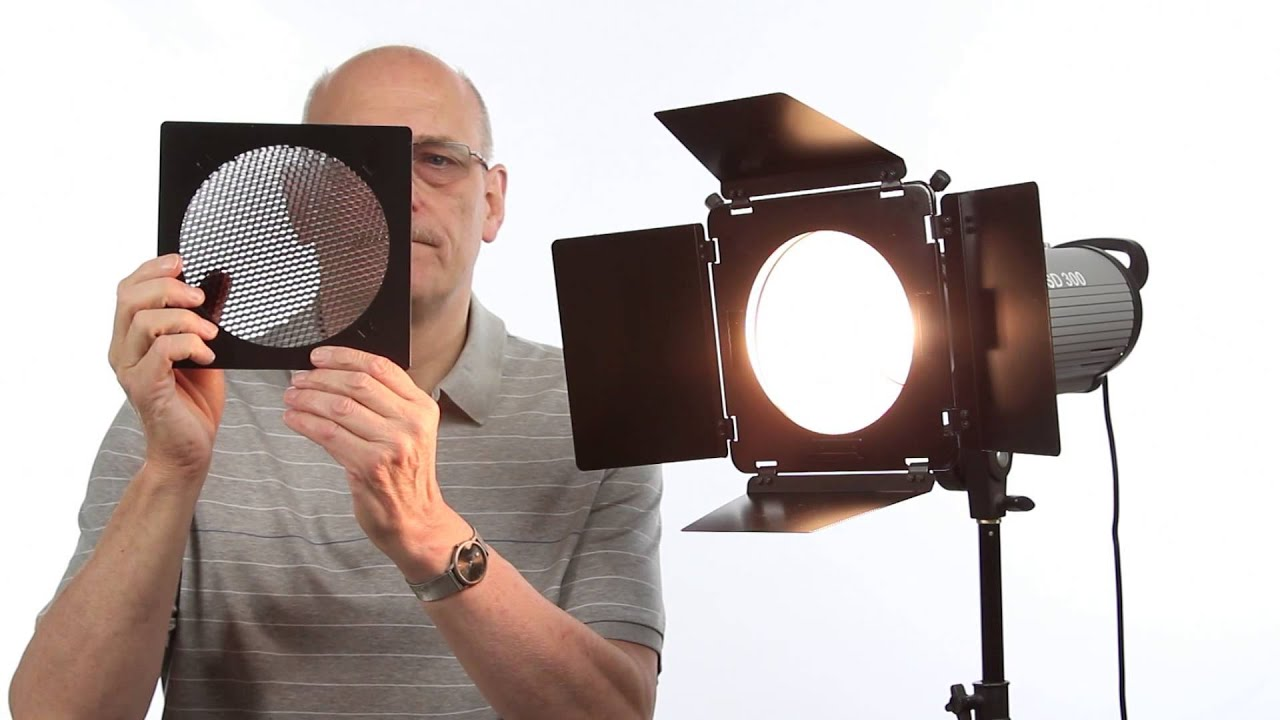 Studio Flash Lighting Barn Doors Explained Youtube