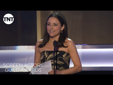 Julia Louis-Dreyfus: Acceptance Speech Best Actor in a Comedy Series | 23rd Annual SAG Awards | TNT