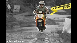 JK Tyre Monsoon Scooter Rally 2018