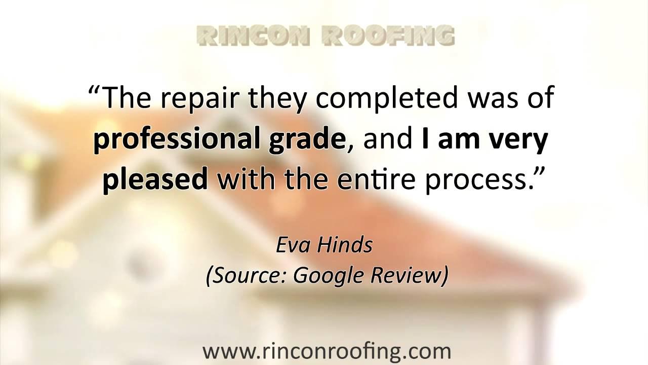 Rincon Roofing Reviews Tucson Arizona Youtube