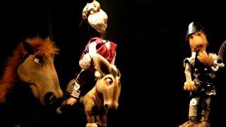 El Quijote cabalga de nuevo  -----   niños y niñas desde 3 años
