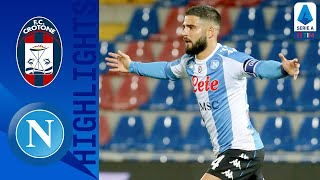 Crotone 0 4 Napoli Insigne On Target As Napoli Cruise To Victory Serie A TIM