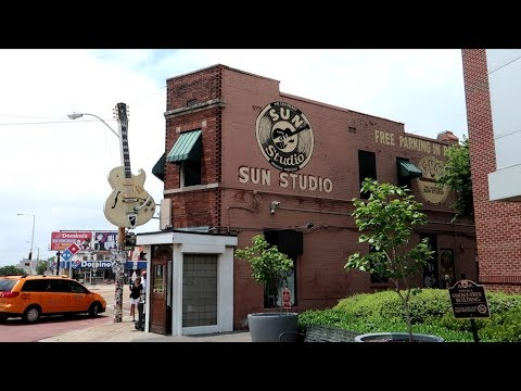 #1045 Inside Tour Of SUN STUDIO Elvis Presley Johnny Cash Jerry Lee Lewis - MEMPHIS TN (6/17/19)