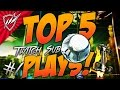 Rocket League TOP 5 PLAYS Twitch Subs Week 1 (Analysis + Epic Goals!)