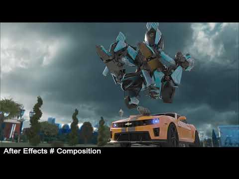 CGI animated Bumblebee (Camaro) vs Mustı (Mustang)  720p low render and making of by Hesenli Ebulfez