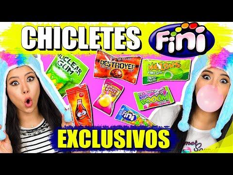 EXPERIMENTANDO CHICLETES FINI EXCLUSIVOS | Blog das irmãs