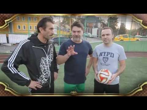 Beyaz Show - Arif, Rüştü Ve Beyaz'ın Futbol Yarışması (13.11.2015)