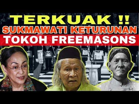 MENGEJUTKAN !! Ridwan Saidi BONGKAR FAKTA Kakek nya Sukmawati Ternyata Tokoh Freemason diIndonesia