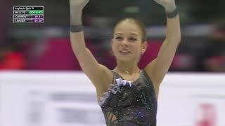 Фигурное катание Финал Гран при 2019 Женщины Короткая программа Александры Трусовой