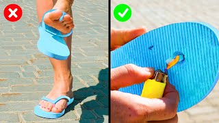 CLOTHES LIFE HACKS TO SAVE YOU THE TROUBLE! | 30 Ideas to save your favorite clothes