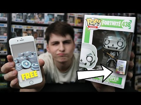 FREE VBUCKS! Fortnite Funko Pop Code Mystery Revealed!