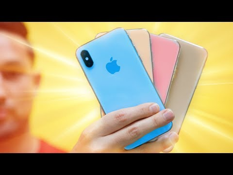 New 2018 iPhone X Colored Rumors RANT!