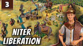 Civilization 6 Gathering Storm - Niter Liberation - Part 3