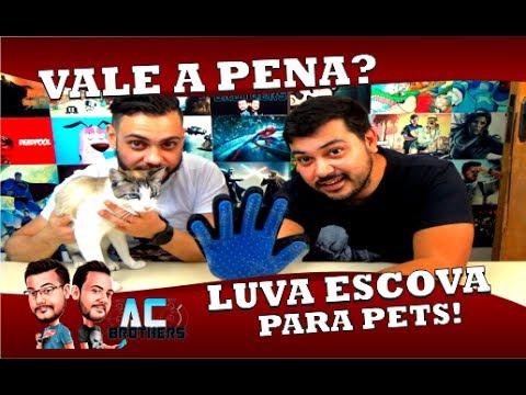 265bf142a VALE A PENA  LUVA ESCOVA MAGNÉTICA PARA PETS! - YouTube