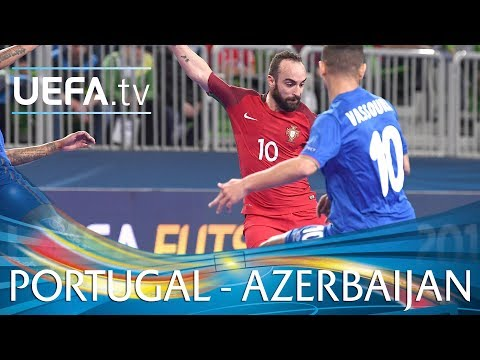 Futsal Euro Highlights: Portugal v Azerbaijan