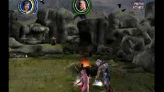"""Narnia: The Lion, the Witch and the Wardrobe VideoGame (GameCube) - Level 15 """"The White Witch"""""""