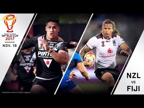 New Zealand vs. Fiji Full Match - 2017 Rugby League World Cup Quarterfinal