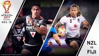 New Zealand vs. Fiji Full Match - 2017 Rugby League World Cup Quarterfinal thumbnail