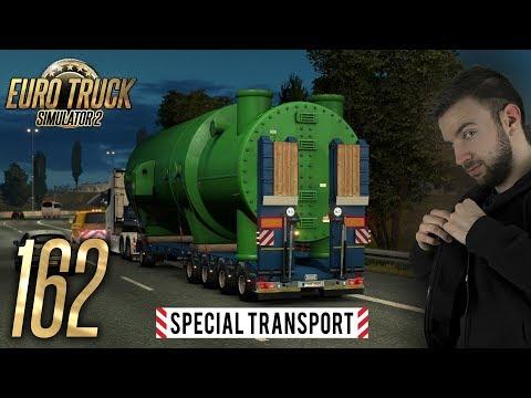 SPECIAL TRANSPORT DLC | Euro Truck Simulator 2 #162