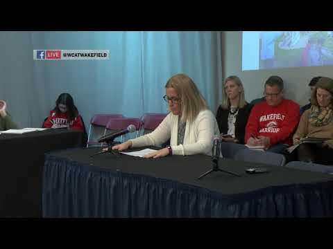 Wakefield School Committee: January 23, 2019