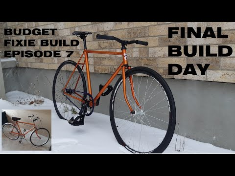 BUDGET FIXIE BUILD EP.7 FLIP-FLOP HUB TRACK WHEEL INSTALL