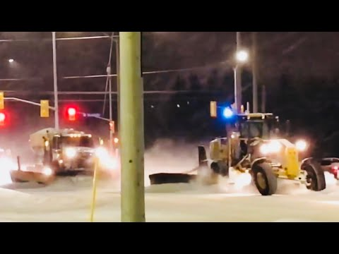 Snow Removal Plow Truck and Grader in Ottawa