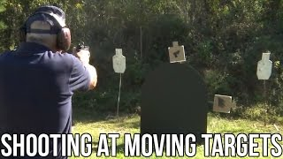 Rifle & Pistol training on Moving Targets! (TARGABOT)