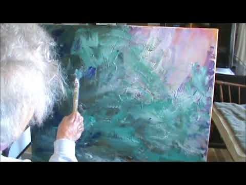 ACRYLIC ABSTRACT PAINTING PART 3 LAST WORDS MILLIE GIFT SMITH