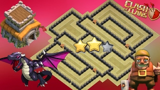 Best Th8 War Base 2017 Anti Dragon With Replay Anti 3 Star Anti 2 Star Anti Hog