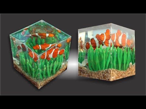 Let's Make A Clown Fish Diorama! Ll Resin Art