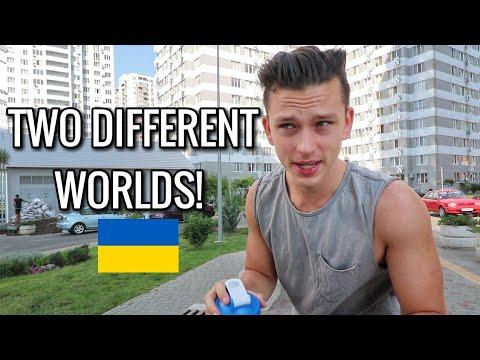 Travel to Ukraine, Odessa / Rich vs. Poor Areas !