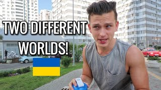Travel to Ukraine, Odessa / Rich vs. Poor Areas !