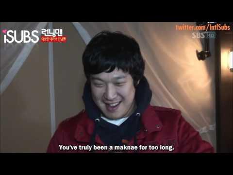 [Running Man Funny Moment] Haha and Yoo Jae Suk share a room