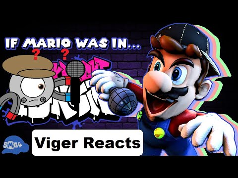 """Download Viger Reacts to SMG4's """"If Mario Was In Friday Night Funkin"""""""