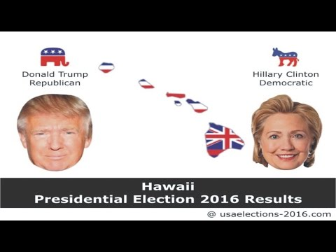 Hawaii Presidential Election 2016 Results LIVE Updates