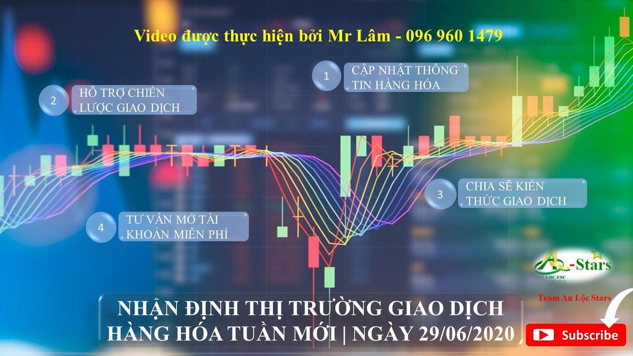 NHẬN ĐỊNH THỊ TRƯỜNG GIAO DỊCH HÀNG HÓA TUẦN MỚI | NGÀY 29/06/2020 | An Lộc Stars