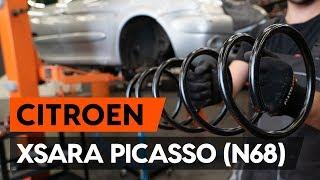 Ako vymeniť predného pružina zavesenia kolies na CITROEN XSARA PICASSO (N68) [NÁVOD AUTODOC]