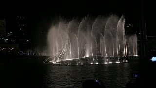 Dubai Fountain 2nd December 2014, UAE National Day