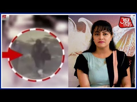 Caught On Camera: Is Honeypreet Hiding In Delhi? Burqa Clad Mystery woman Spotted
