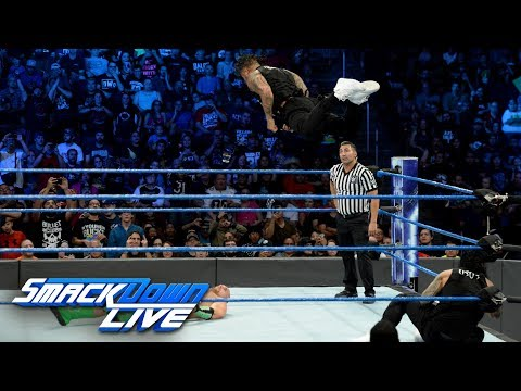 The Hype Bros vs. The Usos: SmackDown LIVE, Sept. 26, 2017