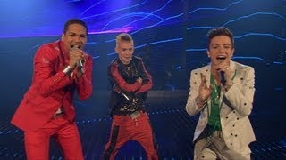 "DSDS 2012 - Top 03 Show Gruppensong 2 ""Live My Life"" von Far East Moving feat. Justin Bieber"