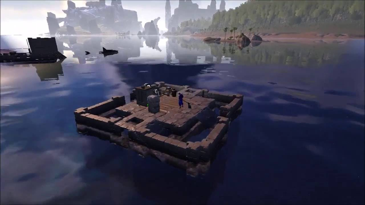 how to build a raft ark