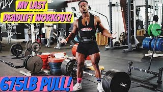 675lb Raw Deadlift Workout | Raw Nationals Prep Ep. 9