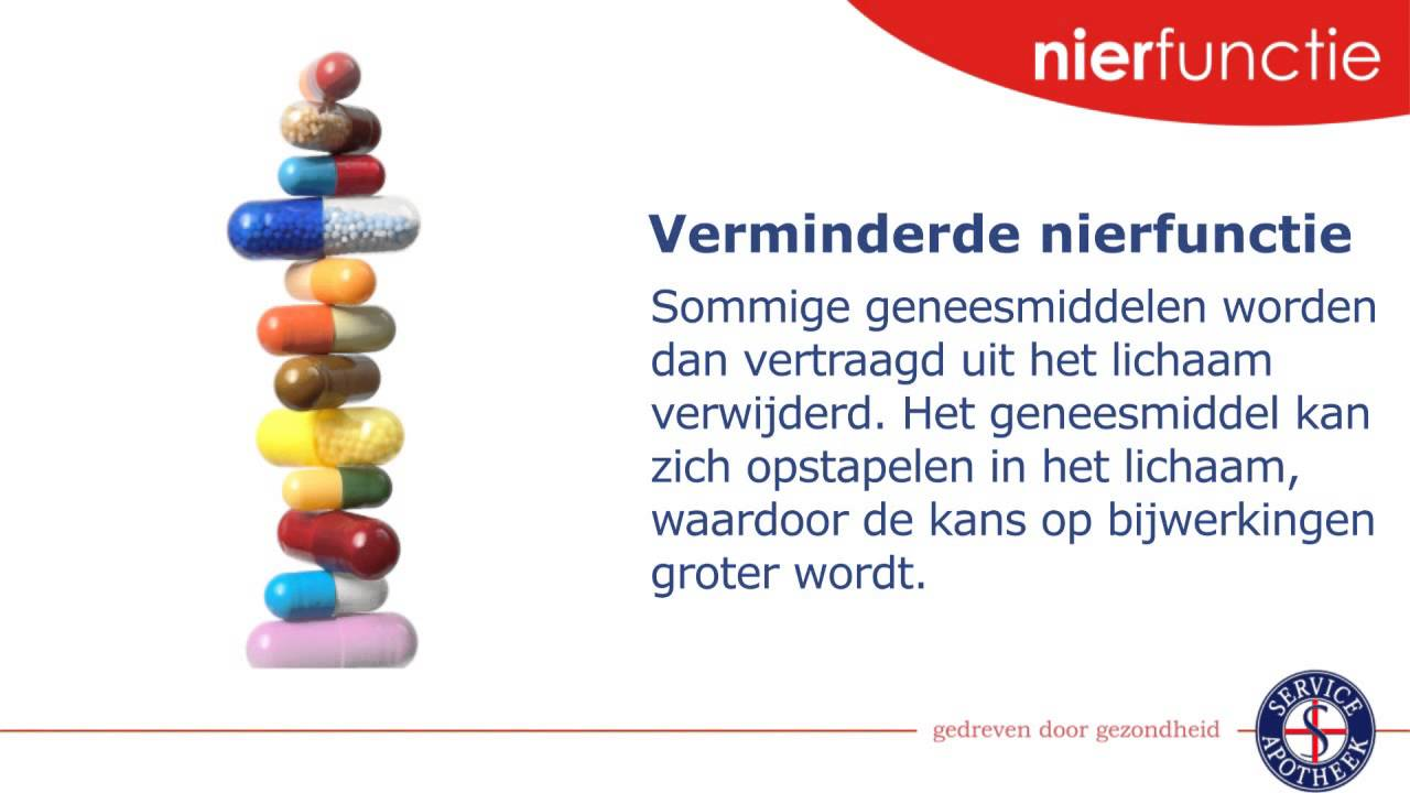 Nieren en medicijnen - Service Apotheek - YouTube